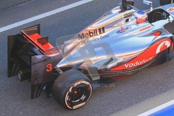© 2012 Octane Photographic Ltd. Barcelona Winter Test 1 Day 3 - Thursday 23rd February 2012. McLaren MP4/27 - Jenson Button. Digital Ref : 0228cb1d9700
