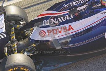 © 2012 Octane Photographic Ltd. Barcelona Winter Test 1 Day 3 - Thursday 23rd February 2012. Williams FW34 - Pastor Maldonado. Digital Ref : 0228cb1d9778
