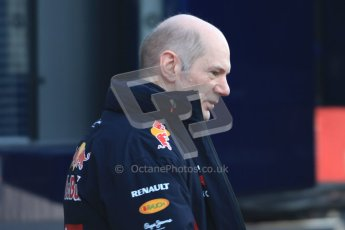 © 2012 Octane Photographic Ltd. Barcelona Winter Test 1 Day 3 - Thursday 23rd February 2012. Red Bull - Adrian Newey. Digital Ref : 0228cb7d6341