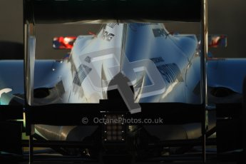 © 2012 Octane Photographic Ltd. Barcelona Winter Test 1 Day 3 - Thursday 23rd February 2012. Mercedes W03 - Michael Schumacher. Digital Ref : 0228cb7d6470