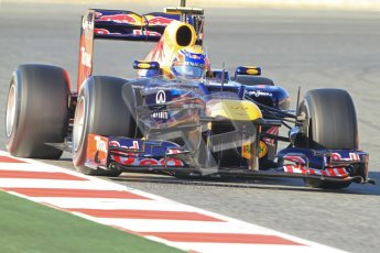 © 2012 Octane Photographic Ltd. Barcelona Winter Test 1 Day 3 - Thursday 23rd February 2012. Red Bull RB8 - Mark Webber. Digital Ref : 0228cb7d6545