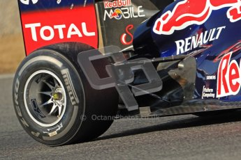 © 2012 Octane Photographic Ltd. Barcelona Winter Test 1 Day 3 - Thursday 23rd February 2012. Red Bull RB8 - Mark Webber. Digital Ref : 0228cb7d6670