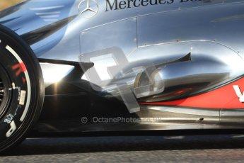 © 2012 Octane Photographic Ltd. Barcelona Winter Test 1 Day 3 - Thursday 23rd February 2012. McLaren MP4/27 - Jenson Button. Digital Ref : 0228cb7d6731