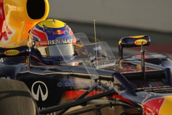 © 2012 Octane Photographic Ltd. Barcelona Winter Test 1 Day 3 - Thursday 23rd February 2012. Red Bull RB8 - Mark Webber. Digital Ref : 0228lw7d2729