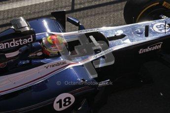 © 2012 Octane Photographic Ltd. Barcelona Winter Test 1 Day 3 - Thursday 23rd February 2012. Williams FW34 - Pastor Maldonado. Digital Ref : 0228lw7d4063