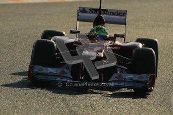 © 2012 Octane Photographic Ltd. Barcelona Winter Test 1 Day 4 - Friday 24th February 2012. Ferrari F2012 - Felipe Massa. Digital Ref : 0229cb1d0017