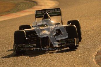 © 2012 Octane Photographic Ltd. Barcelona Winter Test 1 Day 4 - Friday 24th February 2012. Mercedes W03 - Nico Rosberg. Digital Ref : 0229cb1d0041