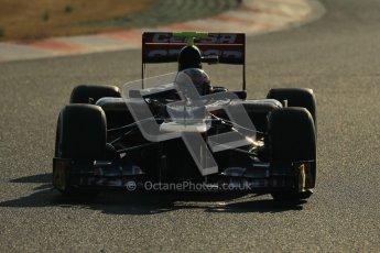 © 2012 Octane Photographic Ltd. Barcelona Winter Test 1 Day 4 - Friday 24th February 2012. Toro Rosso STR7 - Jean-Eric Vergne. Digital Ref : 0229cb1d0052