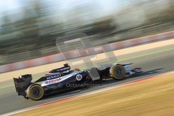 © 2012 Octane Photographic Ltd. Barcelona Winter Test 1 Day 4 - Friday 24th February 2012. Williams FW34 - Pastor Maldonado. Digital Ref : 0229cb1d0103