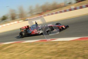© 2012 Octane Photographic Ltd. Barcelona Winter Test 1 Day 4 - Friday 24th February 2012. McLaren MP4/27 - Jenson Button. Digital Ref : 0229cb1d0252