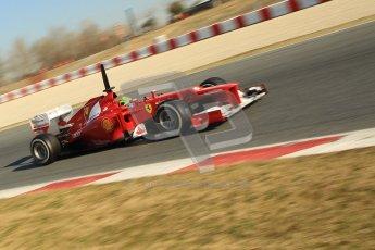 © 2012 Octane Photographic Ltd. Barcelona Winter Test 1 Day 4 - Friday 24th February 2012. Ferrari F2012 - Felipe Massa. Digital Ref : 0229cb1d0299