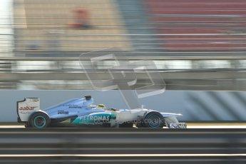 © 2012 Octane Photographic Ltd. Barcelona Winter Test 1 Day 4 - Friday 24th February 2012. Mercedes W03 - Nico Rosberg. Digital Ref : 0229cb1d0345