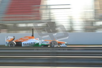 © 2012 Octane Photographic Ltd. Barcelona Winter Test 1 Day 4 - Friday 24th February 2012. Force India VJM05 - Paul di Resta. Digital Ref : 0229cb1d0348