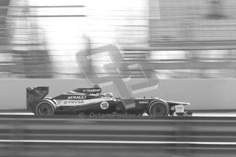 © 2012 Octane Photographic Ltd. Barcelona Winter Test 1 Day 4 - Friday 24th February 2012. Williams FW34 - Pastor Maldonado. Digital Ref : 0229cb1d0354