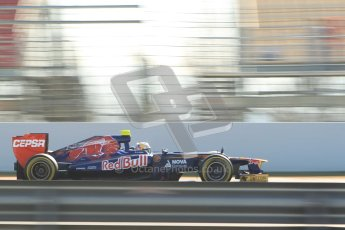 © 2012 Octane Photographic Ltd. Barcelona Winter Test 1 Day 4 - Friday 24th February 2012. Toro Rosso STR7 - Jean-Eric Vergne. Digital Ref : 0229cb1d0375