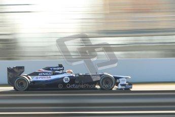 © 2012 Octane Photographic Ltd. Barcelona Winter Test 1 Day 4 - Friday 24th February 2012. Williams FW34 - Pastor Maldonado. Digital Ref : 0229cb1d0396