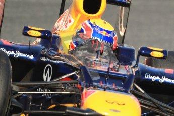 © 2012 Octane Photographic Ltd. Barcelona Winter Test 1 Day 4 - Friday 24th February 2012. Red Bull RB8 - Mark Webber. Digital Ref :0229cb7d6851
