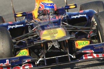 © 2012 Octane Photographic Ltd. Barcelona Winter Test 1 Day 4 - Friday 24th February 2012. Red Bull RB8 - Mark Webber. Digital Ref : 0229cb7d6861