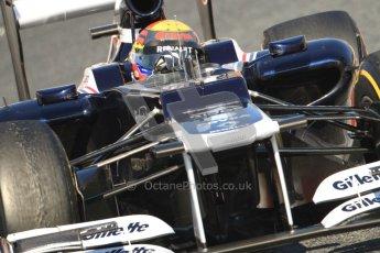 © 2012 Octane Photographic Ltd. Barcelona Winter Test 1 Day 4 - Friday 24th February 2012. Williams FW34 - Pastor Maldonado. Digital Ref : 0229cb7d6879