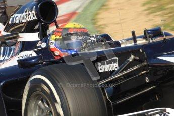 © 2012 Octane Photographic Ltd. Barcelona Winter Test 1 Day 4 - Friday 24th February 2012. Williams FW34 - Pastor Maldonado. Digital Ref : 0229cb7d6885