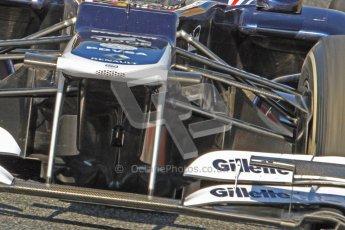 © 2012 Octane Photographic Ltd. Barcelona Winter Test 1 Day 4 - Friday 24th February 2012. Williams FW34 - Pastor Maldonado. Digital Ref : 0229cb7d6954