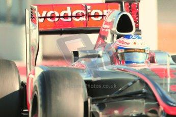 © 2012 Octane Photographic Ltd. Barcelona Winter Test 1 Day 4 - Friday 24th February 2012. McLaren MP4/27 - Jenson Button. Digital Ref : 0229cb7d7037