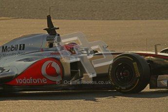 © 2012 Octane Photographic Ltd. Barcelona Winter Test 1 Day 4 - Friday 24th February 2012. McLaren MP4/27 - Jenson Button. Digital Ref : 0229lw7d4393