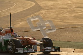 © 2012 Octane Photographic Ltd. Barcelona Winter Test 1 Day 4 - Friday 24th February 2012. Force India VJM05 - Paul di Resta. Digital Ref :