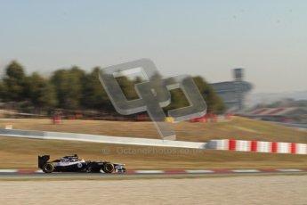 © 2012 Octane Photographic Ltd. Barcelona Winter Test 1 Day 4 - Friday 24th February 2012. Williams FW34 - Pastor Maldonado. Digital Ref : 0229lw7d5176