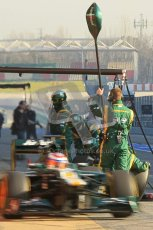 © 2012 Octane Photographic Ltd. Barcelona Winter Test 2 Day 1 - Thursday 1st March 2012. Caterham CT01 - Vitaly Petrov. Digital Ref : 0231cb1d1741
