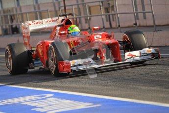 © 2012 Octane Photographic Ltd. Barcelona Winter Test 2 Day 1 - Thursday 1st March 2012. Ferrari F2012 - Felipe Massa. Digital Ref : 0231cb1d1869