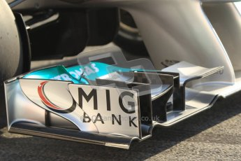 © 2012 Octane Photographic Ltd. Barcelona Winter Test 2 Day 1 - Thursday 1st March 2012. Mercedes W03 - Nico Rosberg. Digital Ref : 0231cb1d1891