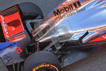 © 2012 Octane Photographic Ltd. Barcelona Winter Test 2 Day 1 - Thursday 1st March 2012. McLaren MP4/27 - Jenson Button. Digital Ref : 0231cb1d1953