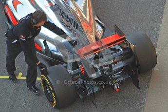 © 2012 Octane Photographic Ltd. Barcelona Winter Test 2 Day 1 - Thursday 1st March 2012. McLaren MP4/27 - Jenson Button. Digital Ref : 0231cb1d1975