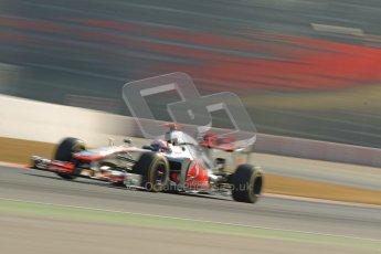 © 2012 Octane Photographic Ltd. Barcelona Winter Test 2 Day 1 - Thursday 1st March 2012. McLaren MP4/27 - Jenson Button. Digital Ref : 0231cb1d2159