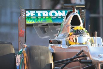 © 2012 Octane Photographic Ltd. Barcelona Winter Test 2 Day 1 - Thursday 1st March 2012. Mercedes W03 - Nico Rosberg. Digital Ref : 0231cb7d7687
