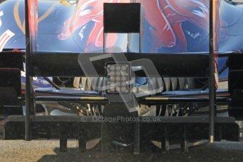 © 2012 Octane Photographic Ltd. Barcelona Winter Test 2 Day 1 - Thursday 1st March 2012. Toro Rosso STR7 - Jean-Eric Vergne. Digital Ref : 0231cb7d7726