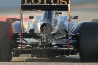 © 2012 Octane Photographic Ltd. Barcelona Winter Test 2 Day 1 - Thursday 1st March 2012. Lotus E20 - Romain Grosjean. Digital Ref : 0231cb7d7762