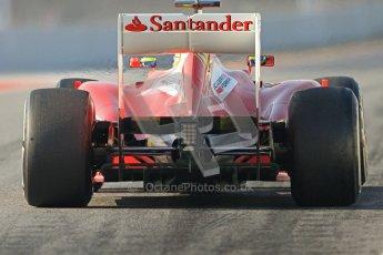 © 2012 Octane Photographic Ltd. Barcelona Winter Test 2 Day 1 - Thursday 1st March 2012. Ferrari F2012 - Felipe Massa. Digital Ref : 0231cb7d7876
