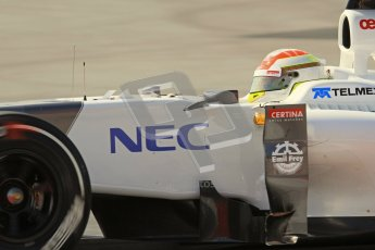 © 2012 Octane Photographic Ltd. Barcelona Winter Test 2 Day 1 - Thursday 24th March 2012. Sauber C31 - Sergio Perez. Digital Ref : 0231lw7d0032