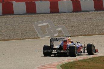 © 2012 Octane Photographic Ltd. Barcelona Winter Test 2 Day 1 - Thursday 24th March 2012. Red Bull RB8 - Mark Webber. Digital Ref : 0231lw7d0171