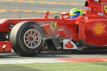 © 2012 Octane Photographic Ltd. Barcelona Winter Test 2 Day 1 - Thursday 1st March 2012. Ferrari F2012 - Felipe Massa. Digital Ref : 0231lw7d0378