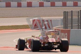 © 2012 Octane Photographic Ltd. Barcelona Winter Test 2 Day 1 - Thursday 1st March 2012. Ferrari F2012 - Felipe Massa. Digital Ref : 0231lw7d0383