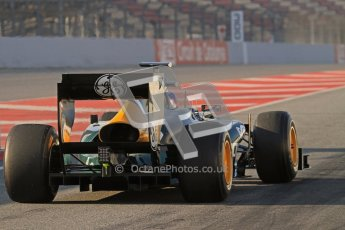 © 2012 Octane Photographic Ltd. Barcelona Winter Test 2 Day 1 - Thursday 1st March 2012. Caterham CT01 - Vitaly Petrov. Digital Ref : 0231lw7d7659