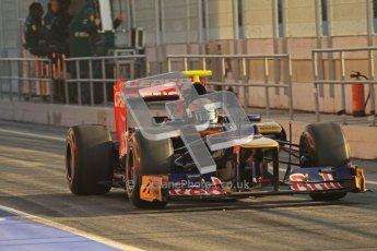 © 2012 Octane Photographic Ltd. Barcelona Winter Test 2 Day 1 - Thursday 1st March 2012. Toro Rosso STR7 - Jean-Eric Vergne. Digital Ref : 0231lw7d7689
