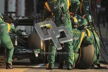 © 2012 Octane Photographic Ltd. Barcelona Winter Test 2 Day 1 - Thursday 1st March 2012. Caterham CT01 - Vitaly Petrov. Digital Ref : 0231lw7d8061