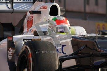 © 2012 Octane Photographic Ltd. Barcelona Winter Test 2 Day 1 - Thursday 1st March 2012. Sauber C31 - Sergio Perez. Digital Ref : 0231lw7d8174