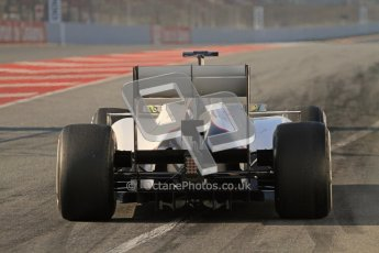 © 2012 Octane Photographic Ltd. Barcelona Winter Test 2 Day 1 - Thursday 1st March 2012. Sauber C31 - Sergio Perez. Digital Ref : 0231lw7d8253