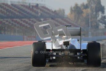 © 2012 Octane Photographic Ltd. Barcelona Winter Test 2 Day 1 - Thursday 1st March 2012. Sauber C31 - Sergio Perez. Digital Ref : 0231lw7d8302