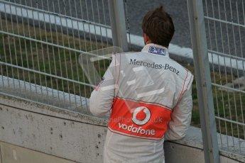 © 2012 Octane Photographic Ltd. Barcelona Winter Test 2 Day 1 - Thursday 1st March 2012. McLaren MP4/27 - Jenson Button. Digital Ref : 0231lw7d8950